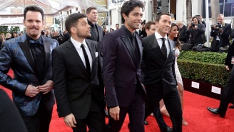 The 'Entourage' Movie Shot Last-Minute Footage At The Golden Globes Last Night