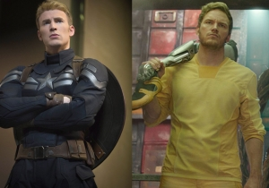 So, Star-Lord and Captain America just made the most Boy Scout Super Bowl bet ever