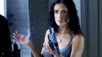 Salma Hayek's 'Everly' trailer: The NRA's wet dream