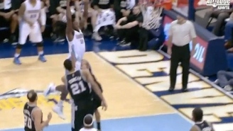 Watch Kenneth Faried Launch Off Two Feet From Half-Circle For Power Dunk
