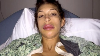 Farrah Abraham's Most Recent Plastic Surgery Did Not Go Well AT ALL