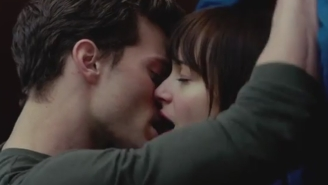 Anastasia Steele Meets The Family In The Golden Globes Trailer For 'Fifty Shades Of Grey'