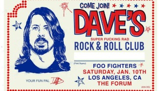 You Can Go To Dave Grohl's 'Super F*cking Rad' Birthday Party For Just $50