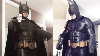 Somebody Made An Amazing 'Arkham Origins' Batsuit With A 3D Printer