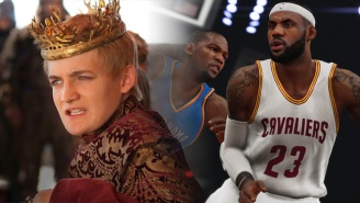 Check Out This Major 'Game Of Thrones' Spoiler Hiding In 'NBA 2K15'
