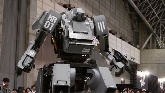There's Now Million-Dollar, Five-Ton, Diesel-Powered Japanese Robots For Sale On Amazon