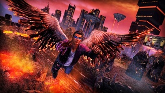 The 'Saints Row: Gat Out Of Hell' Launch Trailer Delivers A Demonic Stone Cold Stunner