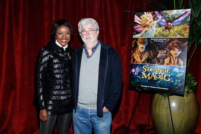 George Lucas promoting Strange Magic