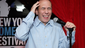 Watch Gilbert Gottfried Read 'A Gronking To Remember'