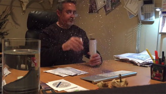 This Is What A Glitter Explosion Looks Like