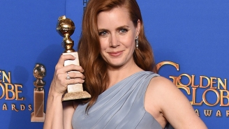Amy Adams has a message for young girls: 'Don't be afraid to be smart or outspoken'