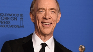 Golden Globes: J.K. Simmons admits meeting Benedict Cumberbatch was 'awesome'