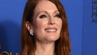 'I crave praise': Julianne Moore gets real at the Golden Globes