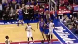 Video: Philly's Jerami Grant Denies An Ambitious Tim Hardaway At The Rim