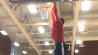 Here's Former First Overall Pick Greg Oden Dunking On Someone At The YMCA