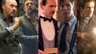 Off the Carpet: Five films have universal industry and guild support so far