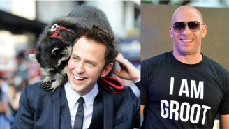 Watch James Gunn And Vin Diesel Engage In A Seriously Bromantic Facebook Interview