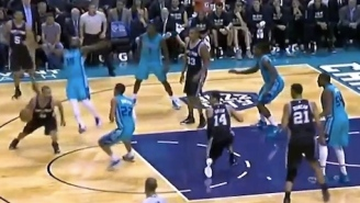Watch Hornets Rookie P.J. Hairston Commit A Flop For The Ages Versus Spurs