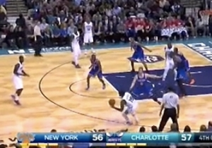 Video: Charlotte's PJ Hairston Crosses Himself Into The First Row
