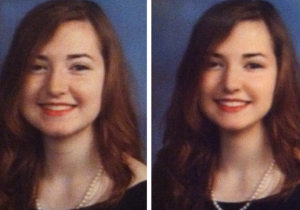 Why Did This Girl's School Photoshop Her Yearbook Photo To Make Her Appear Thinner?