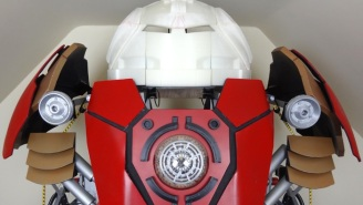 Here's The Latest Video From A Guy 3D-Printing The Iron Man Hulkbuster Armor