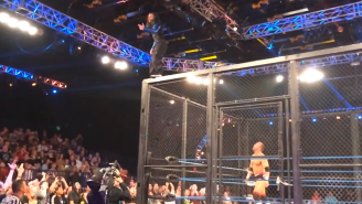 In Case You Missed It, Jeff Hardy Fell Off A Damn Cage This Weekend