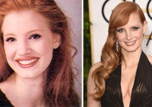 OMG, You Guys, Jessica Chastain Looked Different In High School!