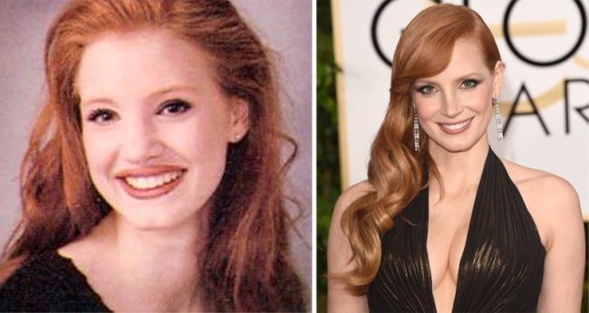 Jessica-Chastain-before-after
