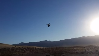 Watch (And Listen) To These Bros Lose Their Minds When A Fighter Jet Flies By