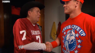 This Unused Jim Ross Commentary About John Cena's Rap Game Is Today's Best Find