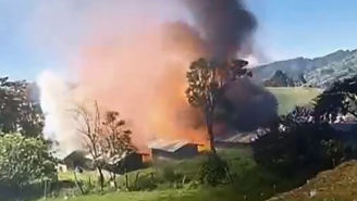 This Is What It Looks Like When A Colombian Fireworks Factory Explodes