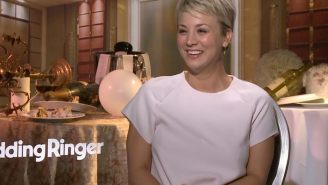 Kaley Cuoco-Sweeting: I guarantee Jim Parsons didn't notice I left to film a movie