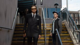 This New Clip From 'Kingsman: The Secret Service' Shows Off Some Fancy Spy Weapons