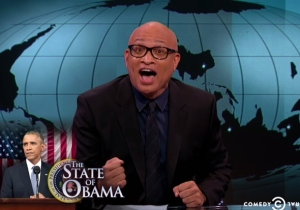 Larry Wilmore Thinks Obama 'Doesn't Give A F*ck' In The 2015 #SOTU