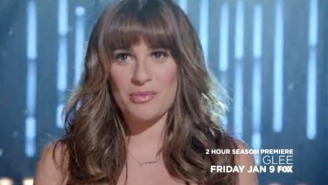 Lea Michelle Re-Implants Your 'Let It Go' Earworm In This Clip From The Season Premiere Of 'Glee'