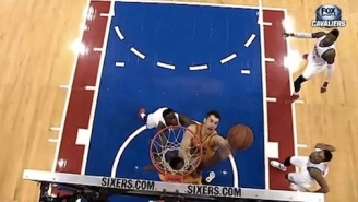 GIF: Kevin Love Misses Game-Winning Tip-In As Sixers Beat Short-Handed Cavs