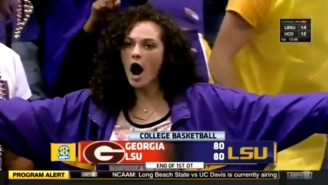 This Cocky LSU Fan Is All About That Thug Life And We Need To Get Out Of Her Way