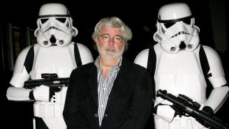 George Lucas Has The Perfect Reason For Not Wanting To See 'Star Wars: The Force Awakens' Early