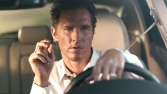 In Which World's Greatest Pitchman Matthew McConaughey Branches Out To Other Products