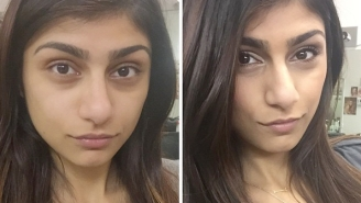 Mia Khalifa Showed What She Looks Like Before And After Her 'Porn Magic' Makeup