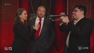 Triple H Broke Character During Raw To Make A Crying Child Feel Better