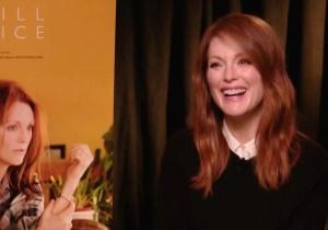 Julianne Moore gives us her Kristen Stewart impression and talks 'Still Alice'