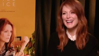 Julianne Moore gives us her Kristen Stewart impression and talks 'Still Alice'
