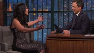 Olivia Munn Describes A Truly Magical Stunt Jeff Goldblum Pulled At The White House