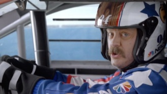 Over 16,000 People Were Offended By NASCAR's Nick Offerman Super Bowl Ad Poking Fun At Gluten-Free Diets