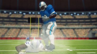 The Ndamukong Suh Leg-Stomping Incident Got The Taiwanese Animation Treatment