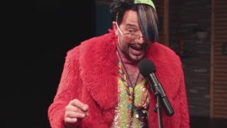 Nick Kroll's Fabrice Fabrice Teams Up With Reggie Watts To Rap About Killing Elmo