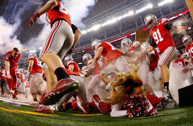 Ohio State cheerleader 2