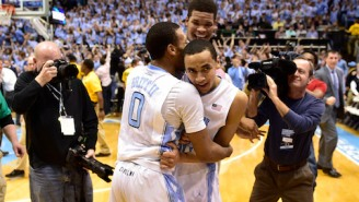 Video: Dick Vitale Pays Tribute To Stuart Scott With 'Boo-Yah' After UNC Win