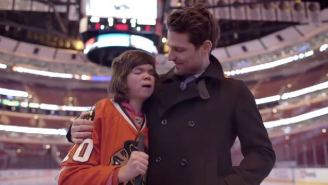 Patrick Sharp Made A Wish Come True For A Young Blind Chicago Blackhawks Fan